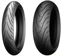 MICHELIN, PILOT ROAD 3 110/70 ZR17 54W Estive